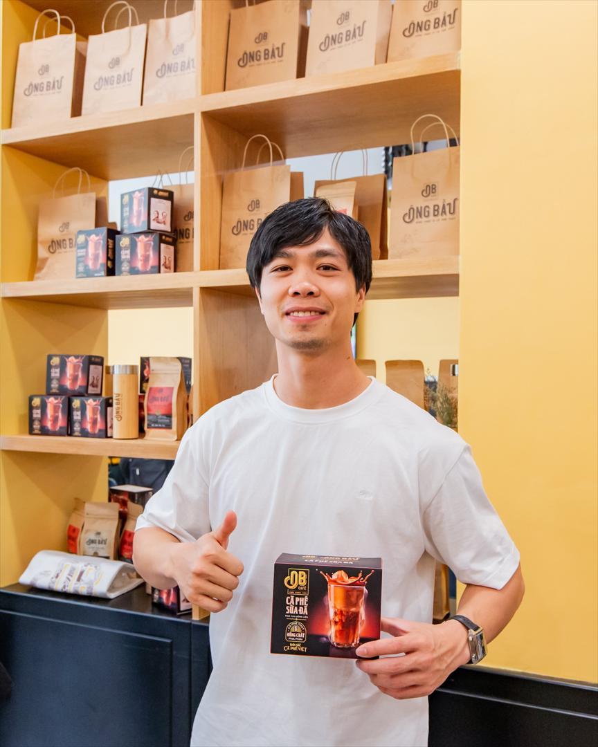 Cửa hàng bán sản phẩm OB Café - Cà Phê Sữa Đá